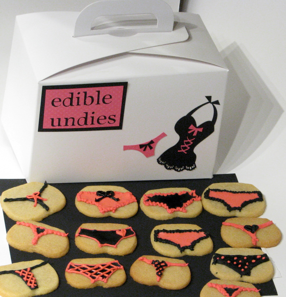 Edible Undie Cookies