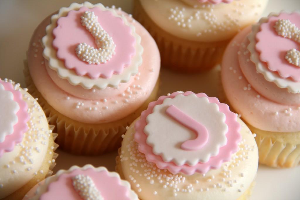 Johanna's 1st Birthday Cupcakes