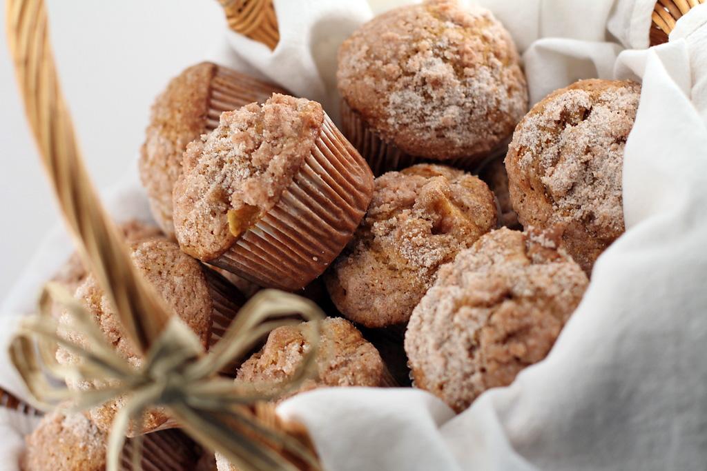 Pumpkin Apple Streusel Muffins | Ciao Annie