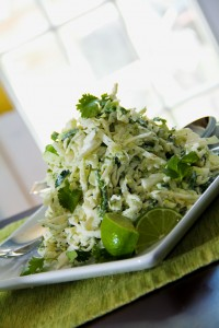 Cilantro Lime Slaw