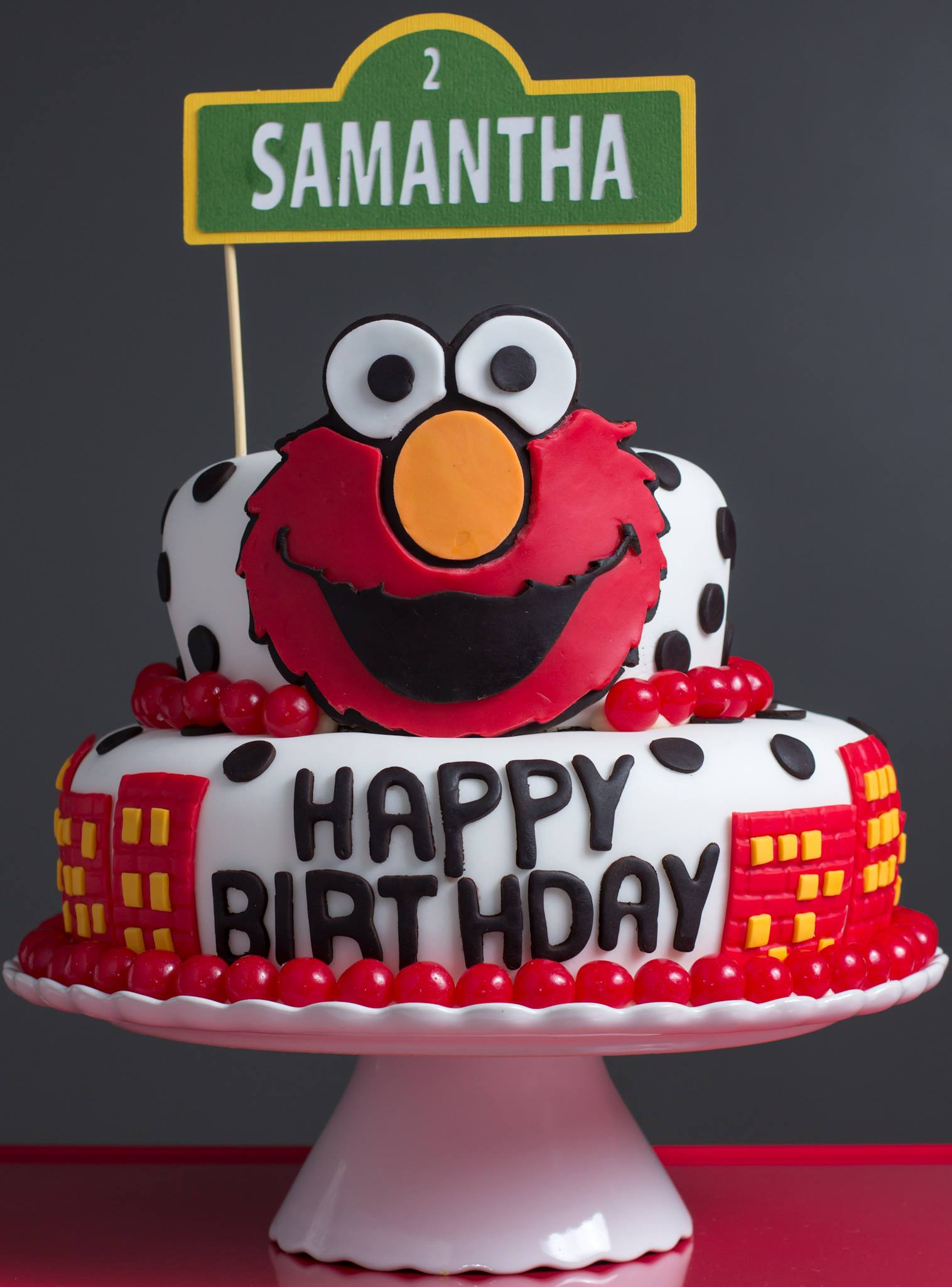 Elmo birthday party ciao annie for Elmo template for cake
