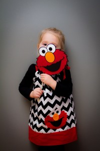 Elmo Birthday Dress