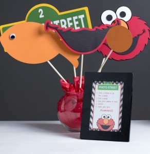 Elmo Sesame Street Photo Props