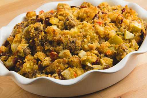 Cornbread Stuffing With Cranberries Cranberry apple cornbread