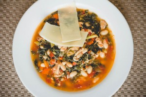 Chicken, White Bean & Kale Stew