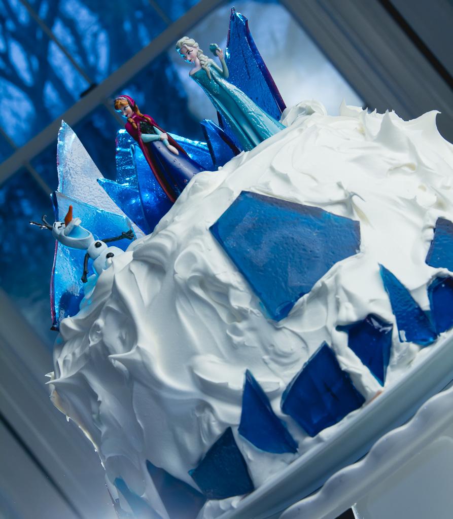 Frozen Ice Cream Cake Images : Make A Disney Frozen Cake Party Invitations Ideas