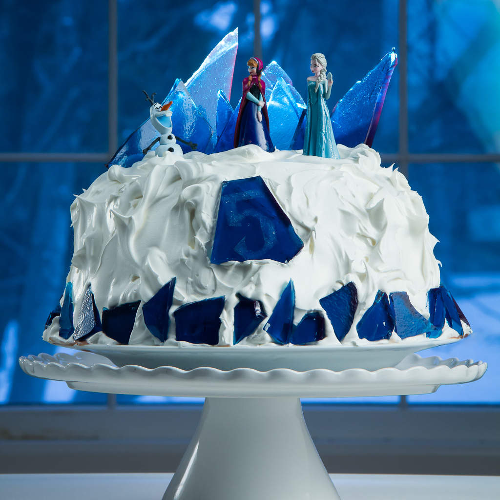 Ice Shards For Frozen Cake