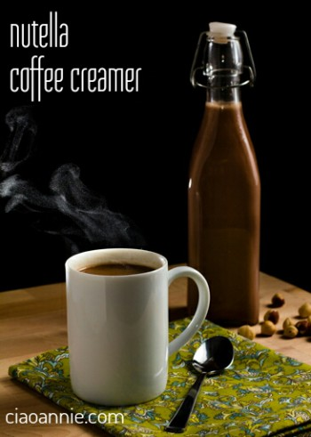 Nutella Coffee Creamer