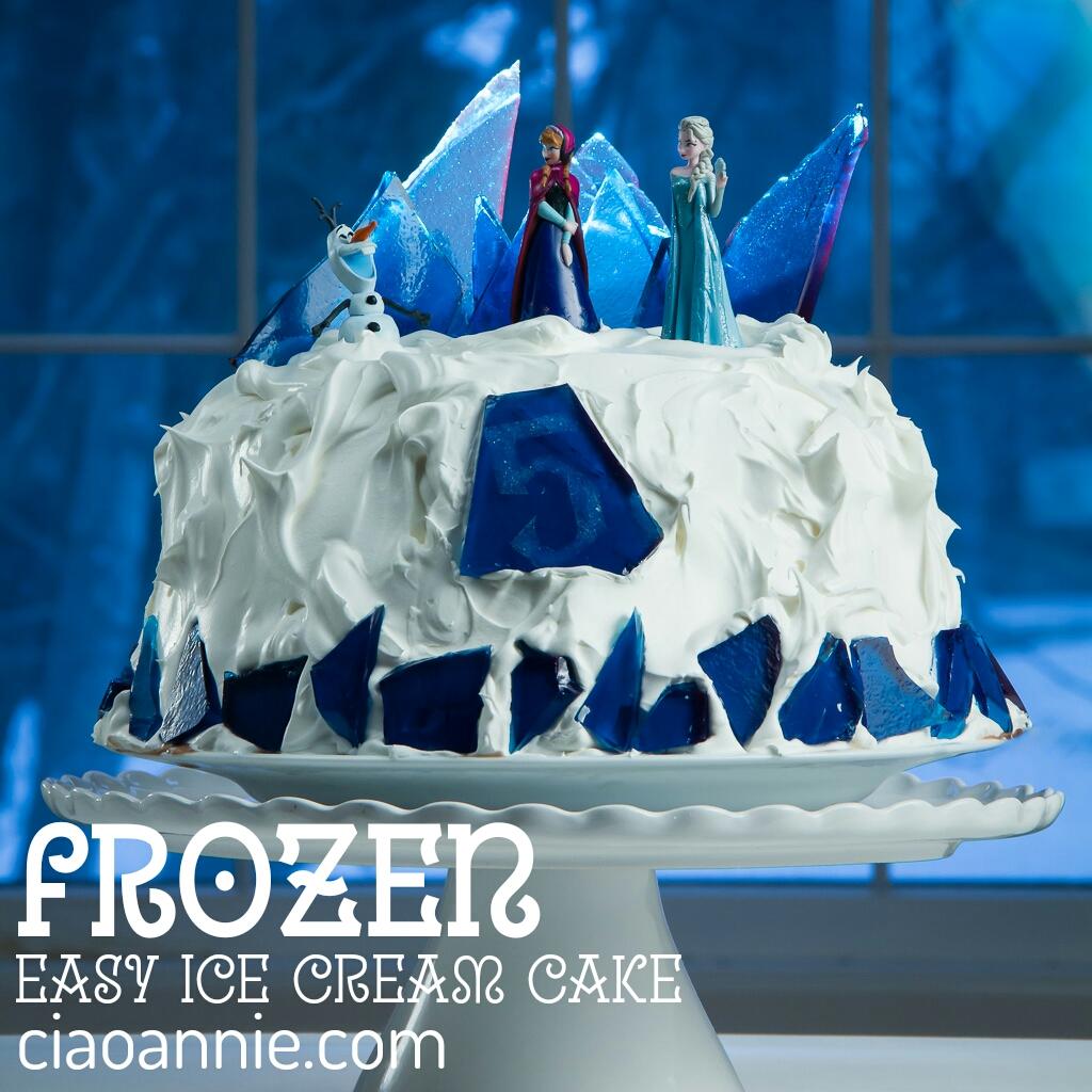 Disney On Ice Birthday Cake